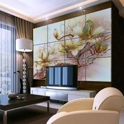 中式简约风格背景墙装饰