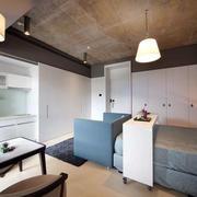 后现代风格公寓整体橱柜设计