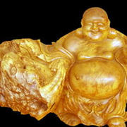 中式佛像根雕设计