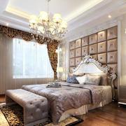 欧式卧室简约风格软包墙饰