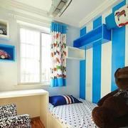 儿童房简约飘窗设计