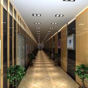 简欧风格酒店走廊吊顶设计