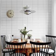 北欧风格餐厅铁制桌椅设计