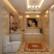 卫生间简欧风格地板设计