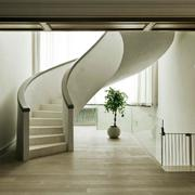 别墅奢华旋转楼梯设计