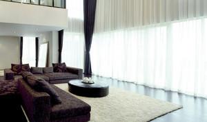 复式楼家居窗帘设计