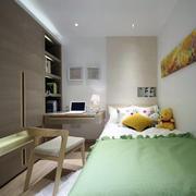 现代简约风格卧室清新壁纸设计