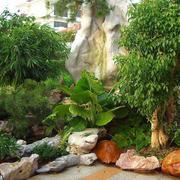 欧式开放式花园设计