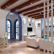 地中海客厅隔断设计