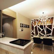 后现代风格室内简约吧台设计