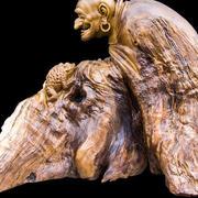中式古典根雕设计