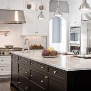 开放式别墅厨房装修