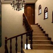 美式简约风格楼梯设计