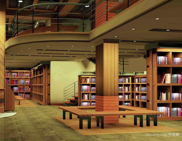 畅游书的海洋:都市大型书店装修效果图欣赏大全