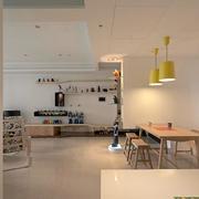 120平米房屋简约风格吊灯装饰