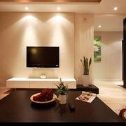 都市风格公寓电视背景墙