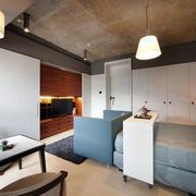 公寓卧室简约吊顶装修