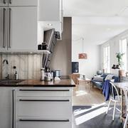 简约风格公寓厨房效果图