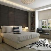 后现代风格卧室地砖设计
