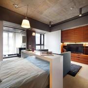 简约风格公寓卧室装饰
