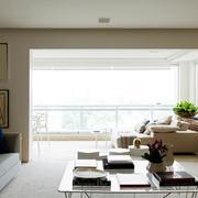公寓简约风格阳台沙发装饰