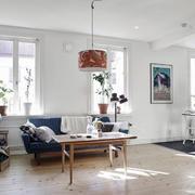公寓客厅创意灯饰设计