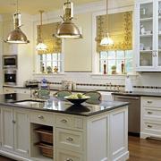 别墅开放式厨房创意吊顶设计