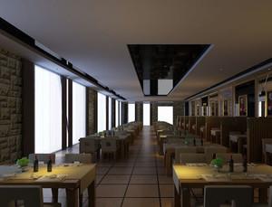 浪漫的约会:优雅气质的西餐厅装修效果图