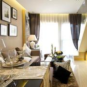 欧式奢华风格客厅装修