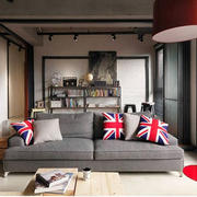 loft公寓美式风格客厅装饰