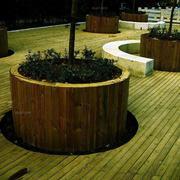 简单式花坛装修设计