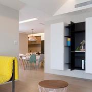 两室一厅都市简约桌椅装修