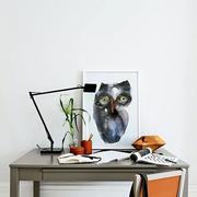北欧风格书房桌椅设计