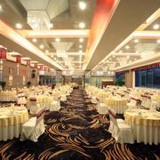 大型餐厅喜宴桌椅设计