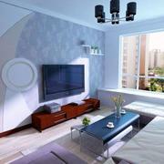 后现代风格电视背景墙装饰