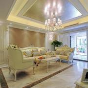 欧式客厅创意灯饰设计