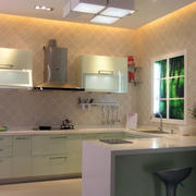 厨房密集型灯饰装修