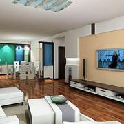 现代简约风格3d室内墙饰设计