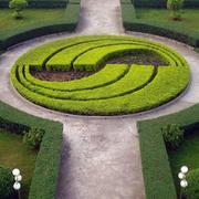 大型公园创意花坛效果图