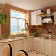 韩式L型小厨房装修