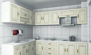 大户型大气欧式风格厨房装修效果图