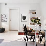 北欧风格公寓玄关装饰