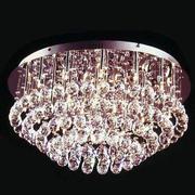 简约风格水晶灯装饰
