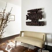 都市风格大型复式楼沙发设计