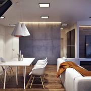 loft公寓整体沙发效果图