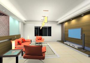 3D室内书房设计