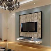后现代风格石膏板背景墙装饰
