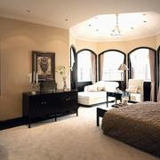 卧室简约风格吊顶效果图