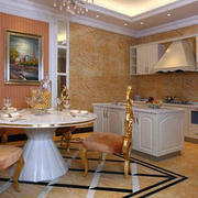 欧式奢华小型厨房装饰
