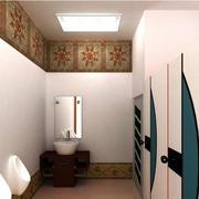 现代简约风格公厕设计